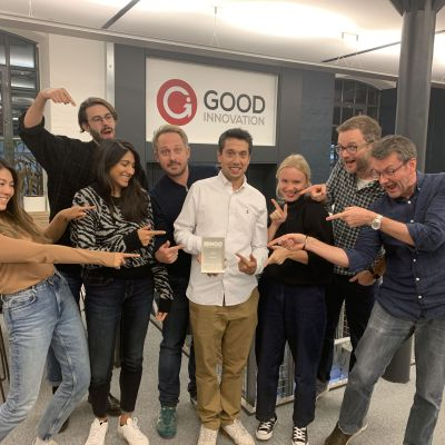 We've won a Global Service Design Award!